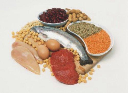 Makan Makanan Sumber Protein Tinggi